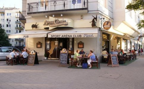 Arena Corner cseh söröző