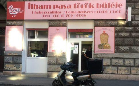Ilham Pasa Török Büféje