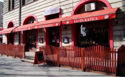 Kávés Katica