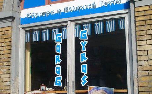 Gyros Kerkyra Görög Ételbár