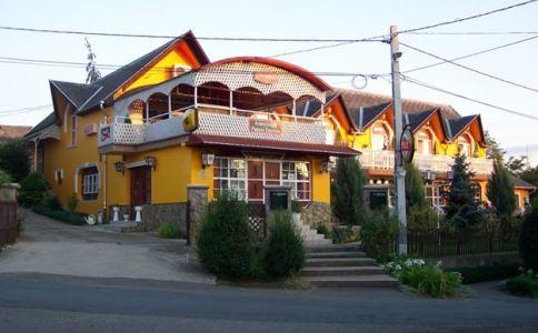 Aranyhordó Panzió, Étterem