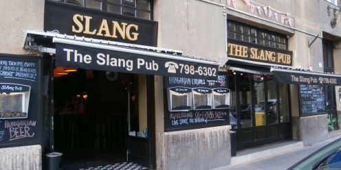 The Slang Pub